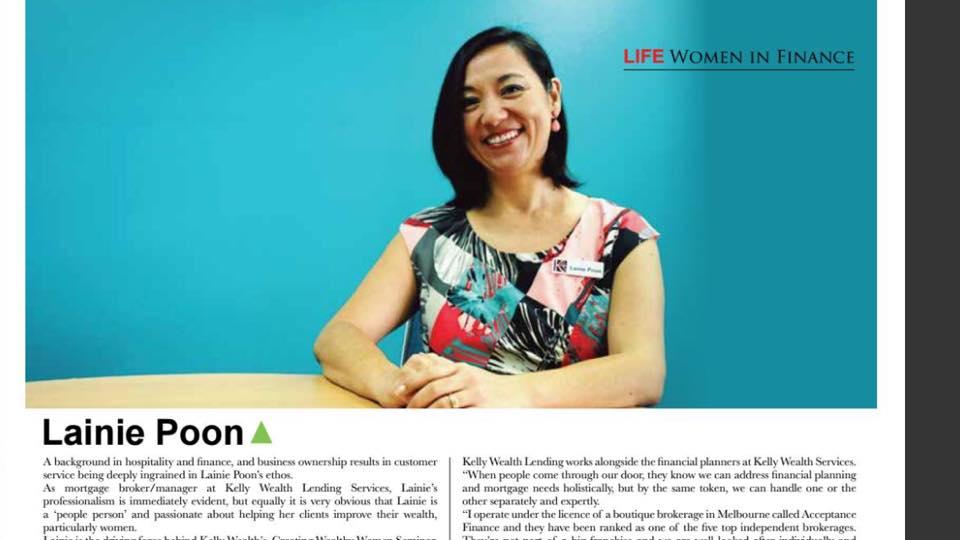 Cairns Life Lainie Poon Women in Finance   Lainie Poon Cairns Finance Advisor